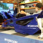 F1 cockpit simulator - McGregor