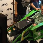 F1 cockpit simulator - McGregor, Giedo