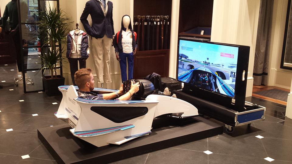 Rent A F1 Cockpit Simulator Bernax Race Simulators