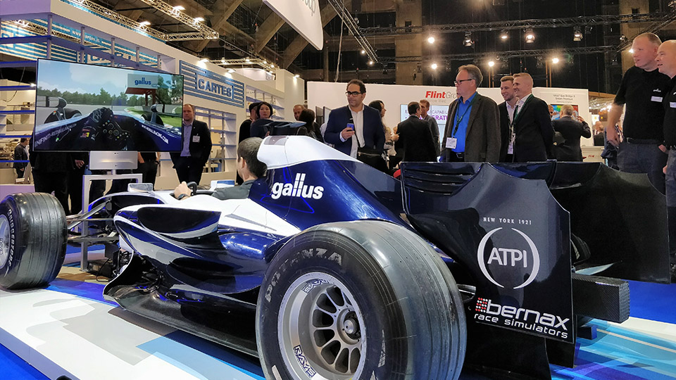 Rent A F Showcar Bernax Race Simulators - F1 show car