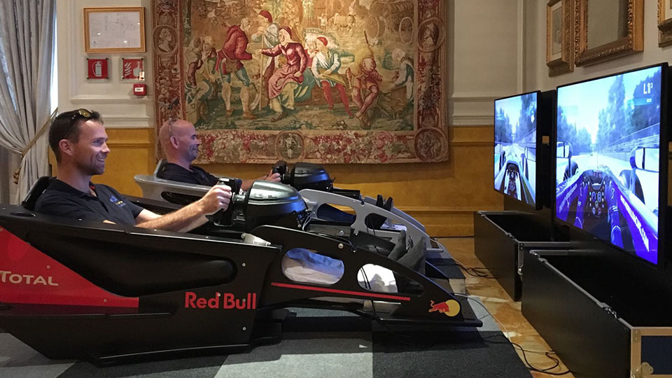Rent a Bernax Cockpit Simulator