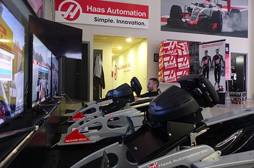 Haas F1 - Simulator   Bernax Race Simulators